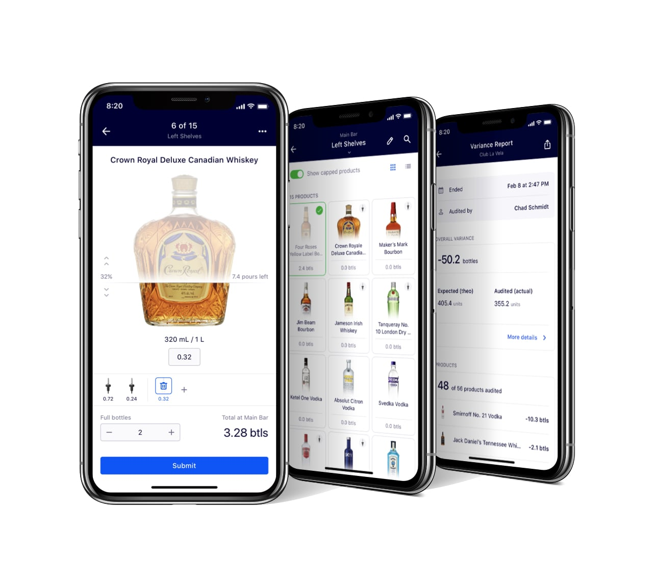 Nectar: Connected Pourers & Stoppers - Track your bar in